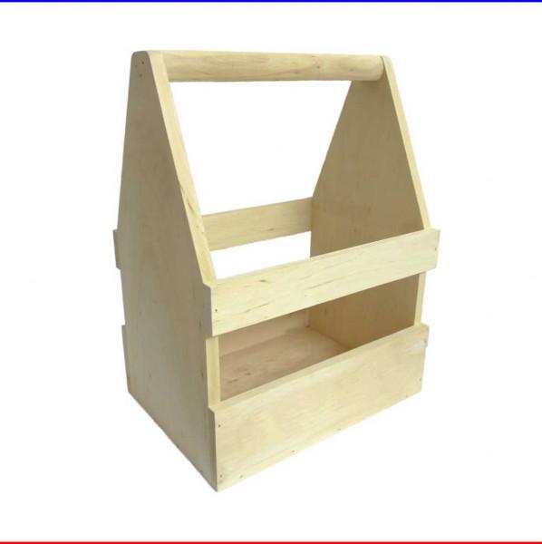 Holzträger Männerhandtasche aus Holz
