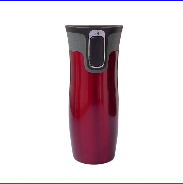 Contigo West Loop Autoseal to go Thermobecher 470ml rot