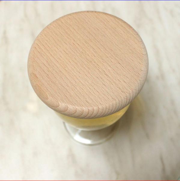 Holz Bierdeckel aus Buche Ø10cm