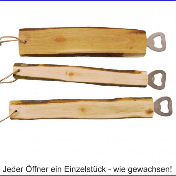 Flaschenöffner Holz Werbemittel