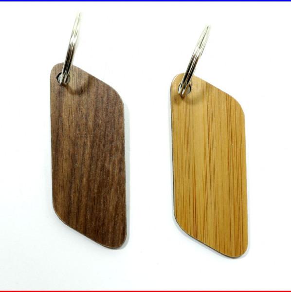 Holz Schlüsselanhänger Parallel Furnier