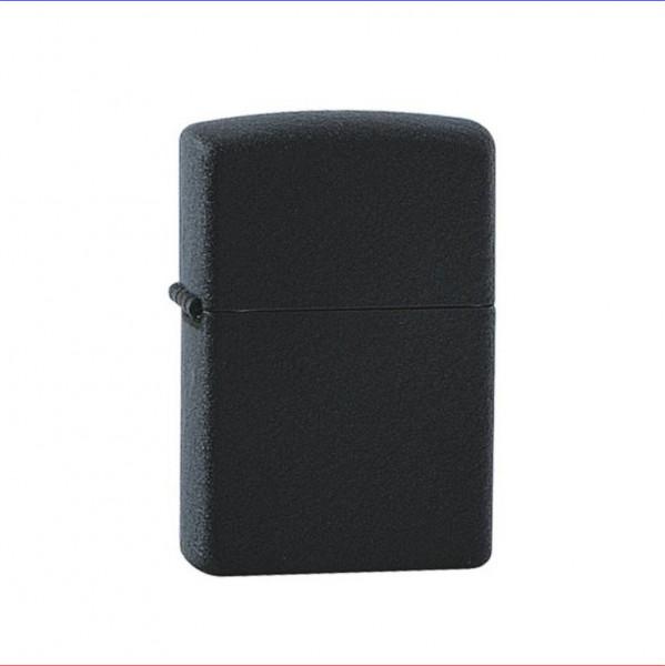 Zippo Feuerzeug schwarz crackle ohne/mit Gravur Text/Logo Gravur