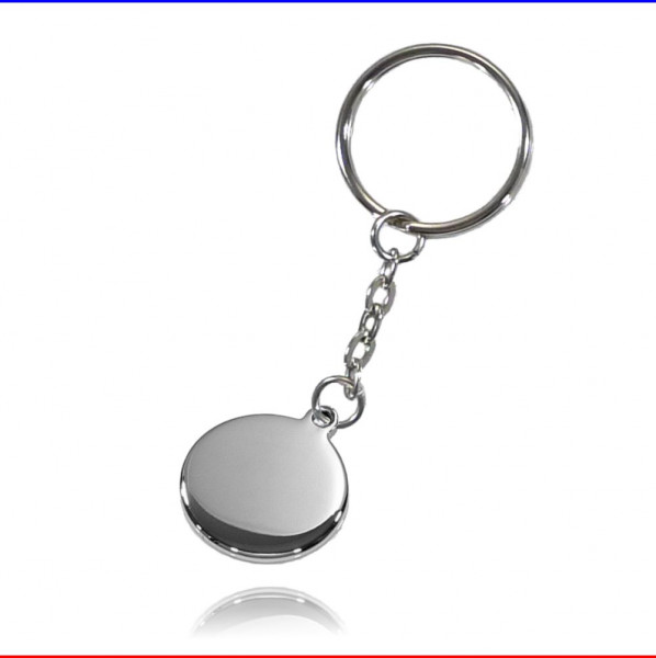 Schlüsselanhänger Ronde 23mm Edelstahl