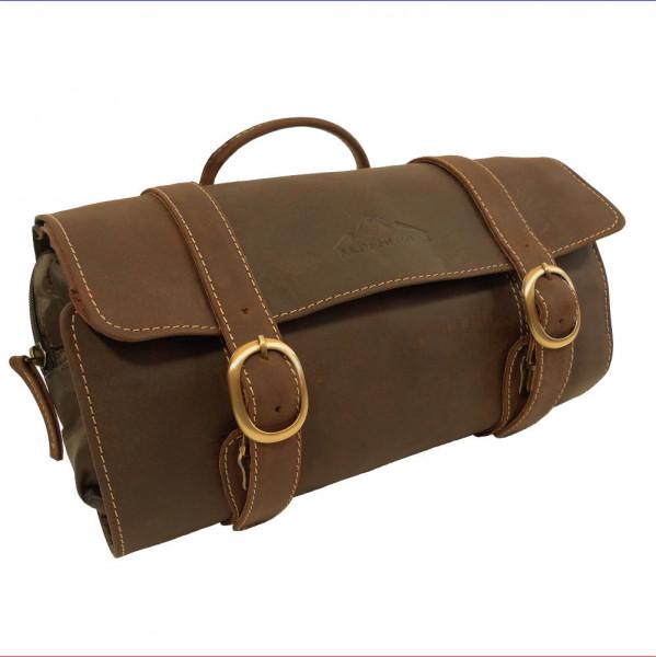 Ledertasche Kulturtasche aus Echtem Leder