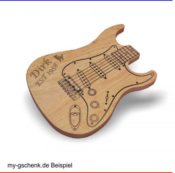 Gitarren-Brett aus massivem Erlenholz