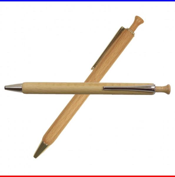 Kugelschreiber Holz Buche
